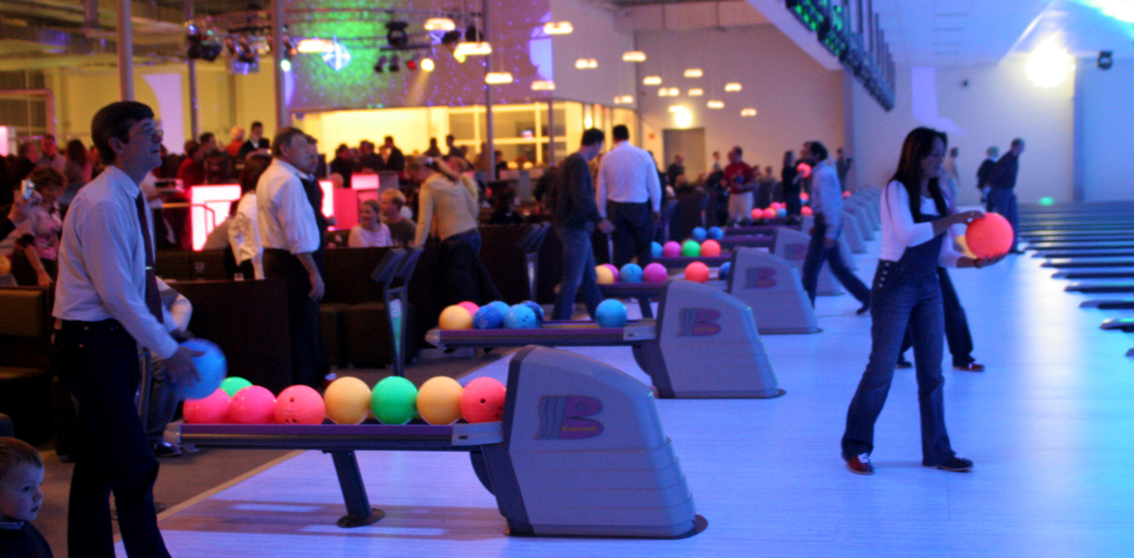 Tolle Atmosphere beim Bowling